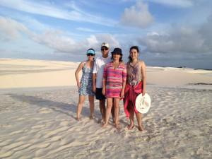 Flavia Furtado e Familia