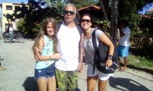 Luana Pinheiro e Pai e Prima